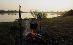 Ночлег на берегу Припяти