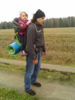 Туристы. Пеший ПВД на озеро Бездонное
