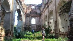 Церковь разрушенная во время первой мировой войны Гродненская обл.